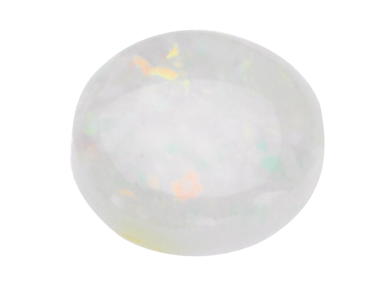 Opale, cabochon rond 4 mm