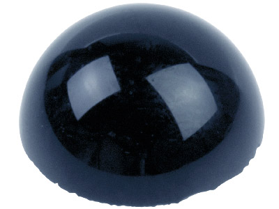 Onyx cabochon rond 10 mm