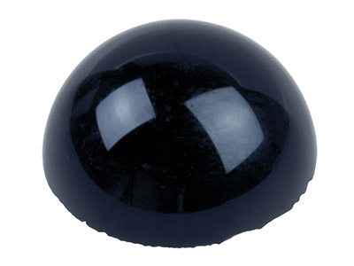 Onyx cabochon rond 4 mm