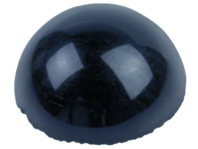 Onyx cabochon rond 6 mm