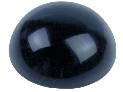 Onyx cabochon rond 8 mm