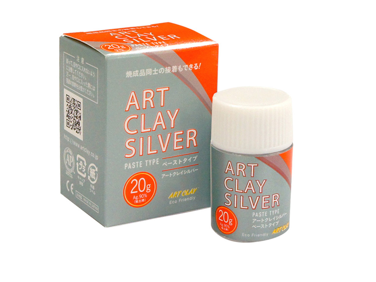 Pâte d'Argent 900 Art Clay, pot de 20 g