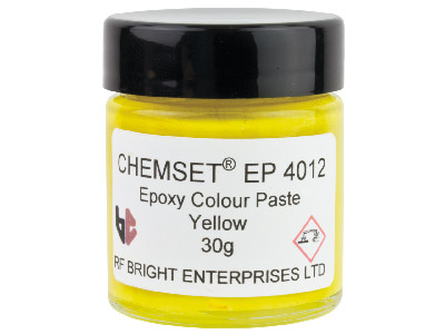 Pâte-Epoxy-jaune-opaque,-pot-30-g,-ré...