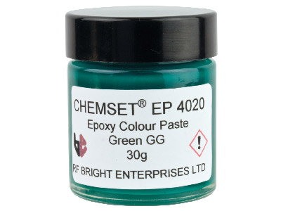 Pâte-Epoxy-verte-opaque,-pot-30-g,-ré...