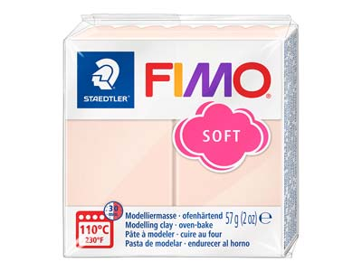 Fimo Soft pâte polymère Chair n 43 pain 57 g