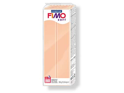 Fimo Soft, pâte polymère Chair n 43, pain 350 g