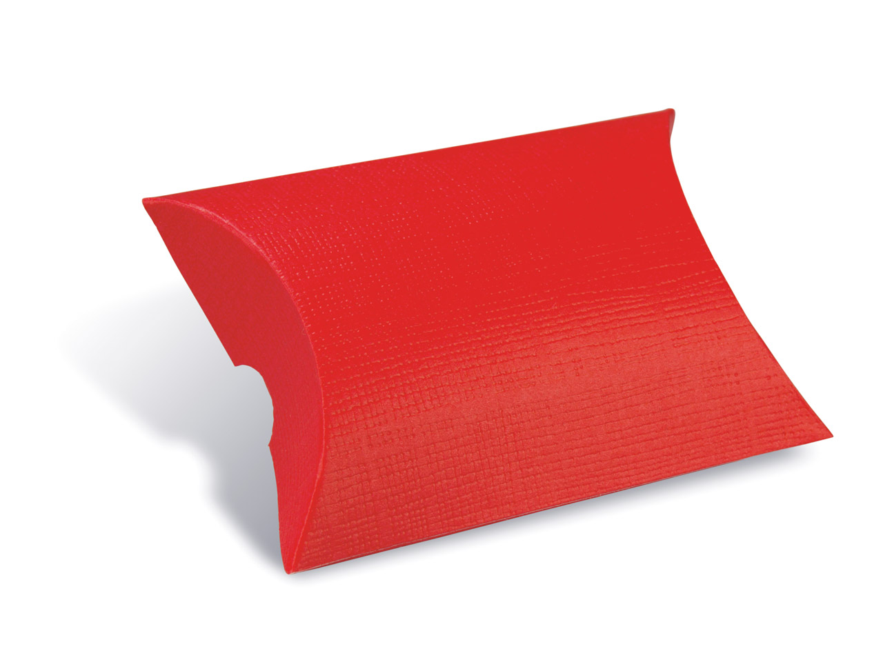 Emballage Berlingot rouge, 70 x 70 x 25 mm, par lot de 10