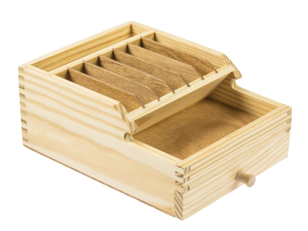 Rangement avec tiroir en bois pour outils d 39 tabli for Rangement tiroir en bois