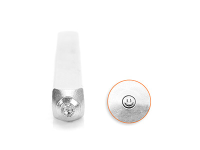Poinçon-ImpressArt,-motif-Smiley,-3-mm