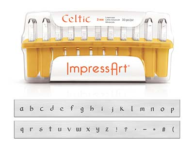 Poinçons-ImpressArt,-Alphabet-Celtic-...