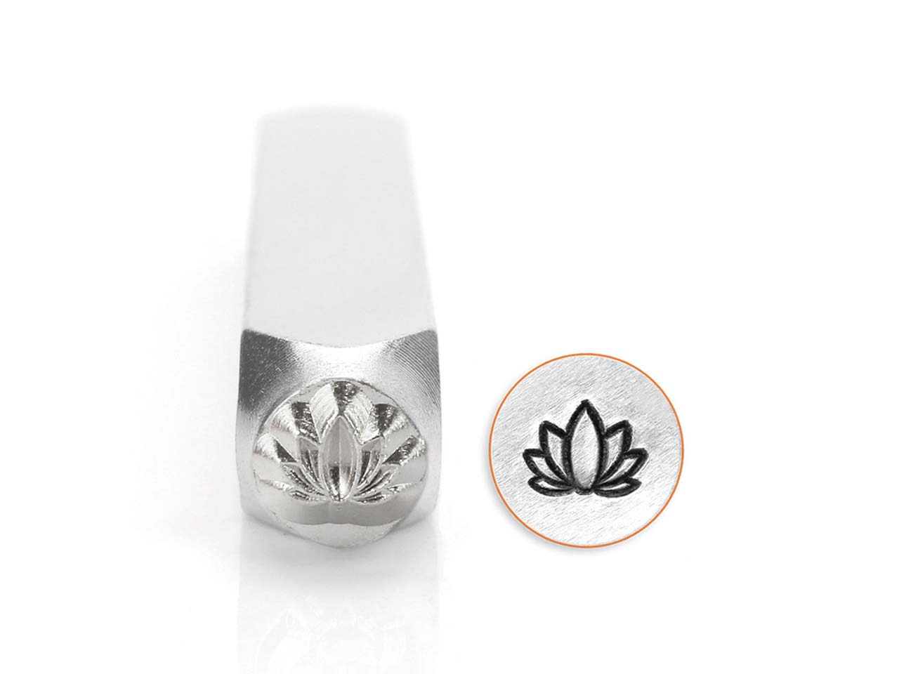 Poinçon ImpressArt, motif Lotus, 6 mm