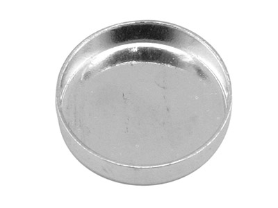 Support Cabochon rond 12 mm, Argent 925