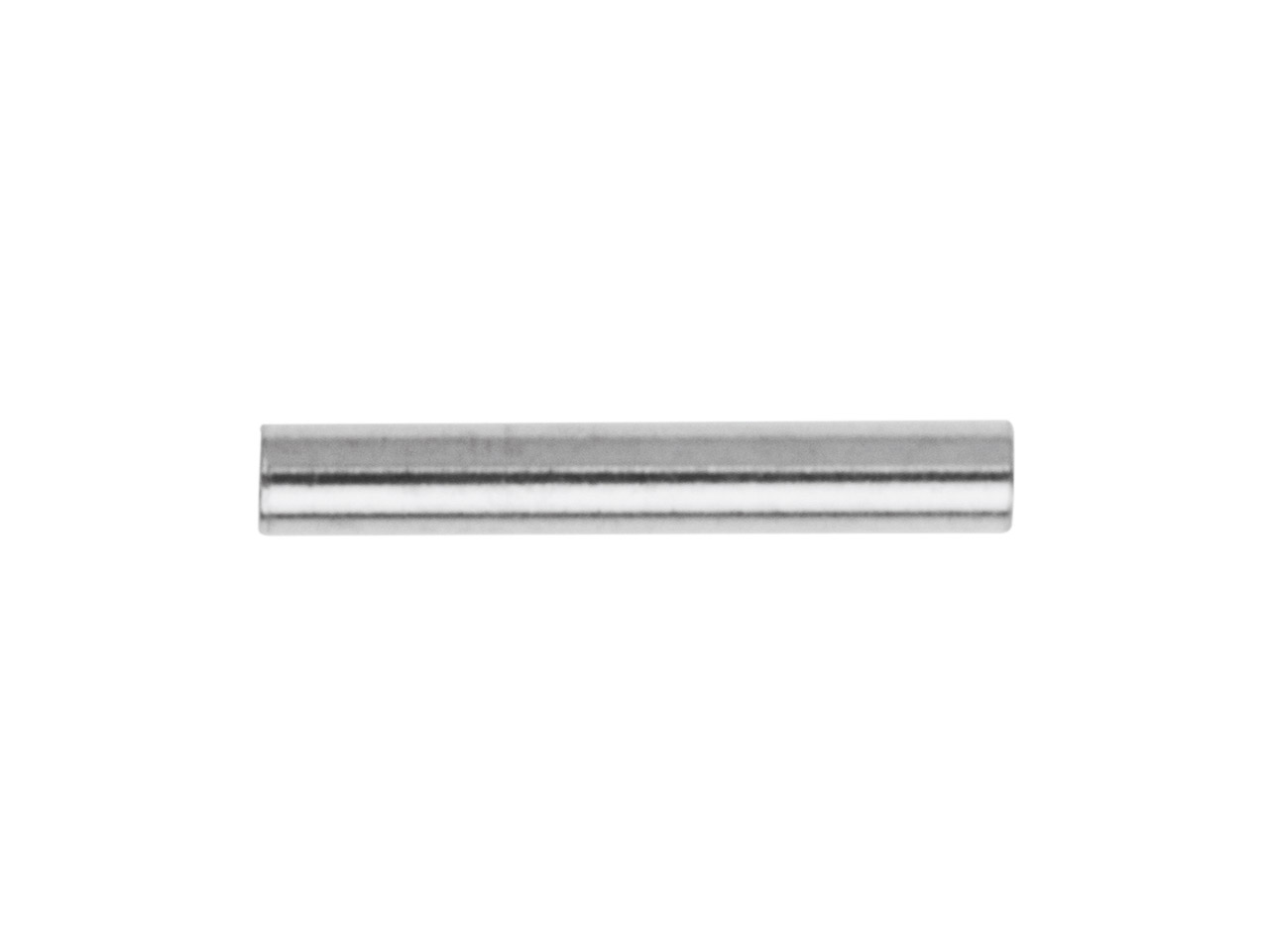 Intercalaire tube 10 x 1,5 mm, Argent 925, sachet de 25