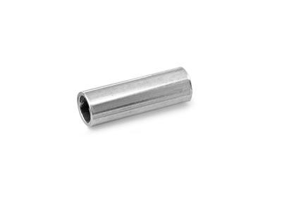 Intercalaire tube 10 x 3 mm Argent 925 sachet de 25