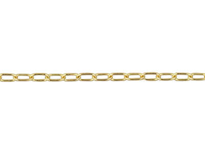 Chaîne rectangle 17 x 28 mm Gold filled 14k