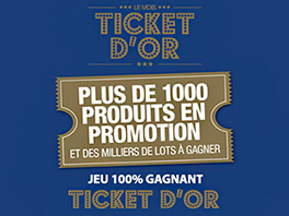 Le mois Ticket d'Or
