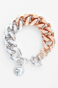 bracelet Marc by Marc Jacobs or blanc et or rose