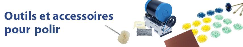 Outils et accessoires pour polir Cookson CLAL
