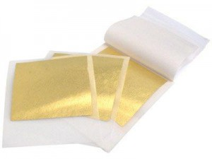 Feuilles d'or de chez Cookson-clal