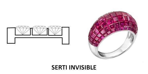 serti invisible