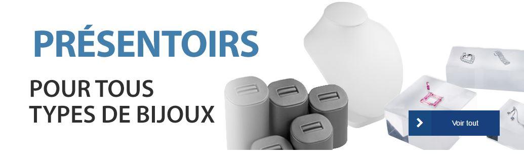 Présentoirs packaging bijouterie