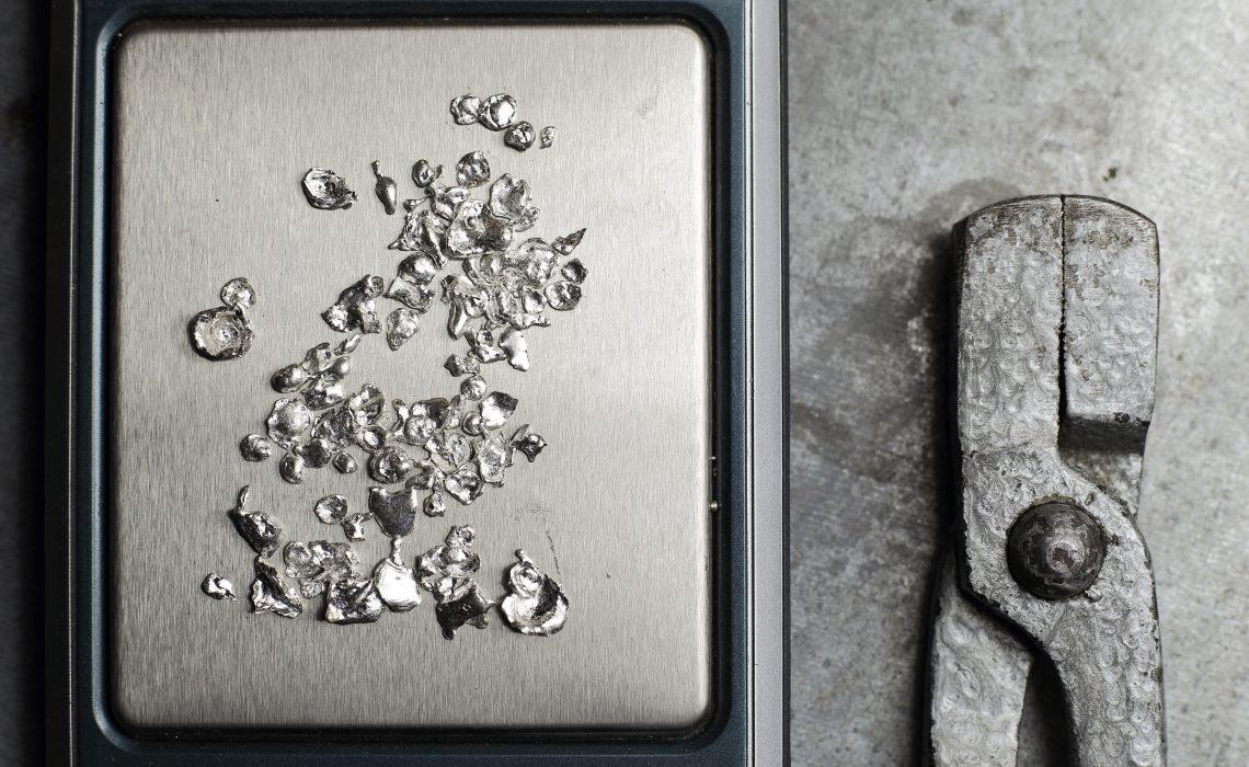 métal argent