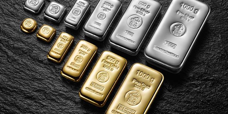 densité des métaux précieux