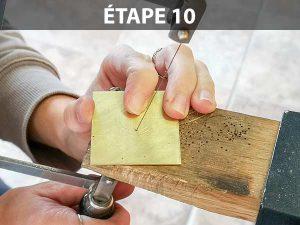 créer une bague sans soudure : étape 10