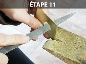 créer une bague sans soudure : étape 11