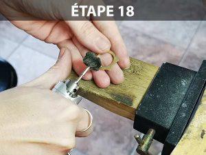 créer une bague sans soudure : étape 18