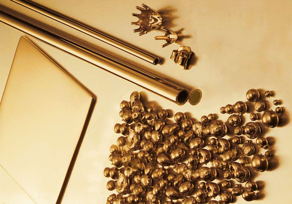 travailler l'or en bijouterie