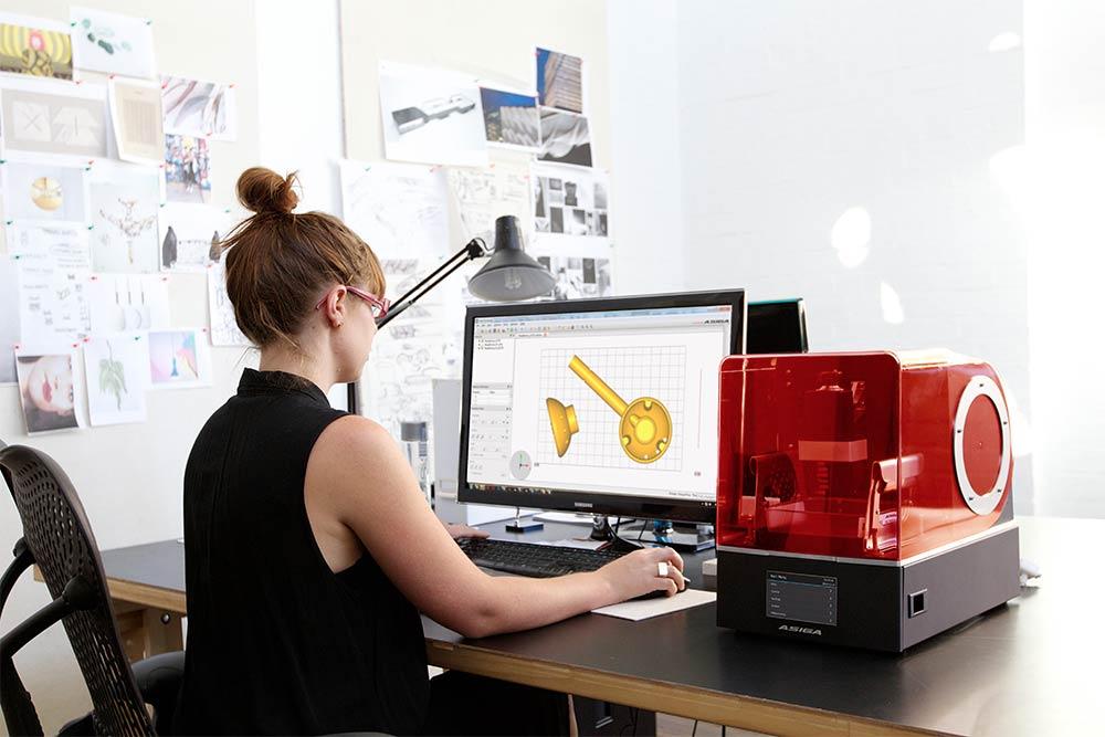 imprimantes 3D asiga bijouterie